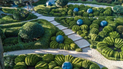 The Magical Gardens of Etretat