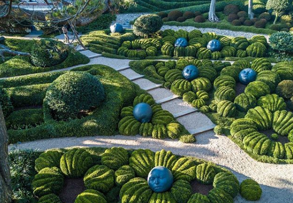 The Magical Gardens of Etretat