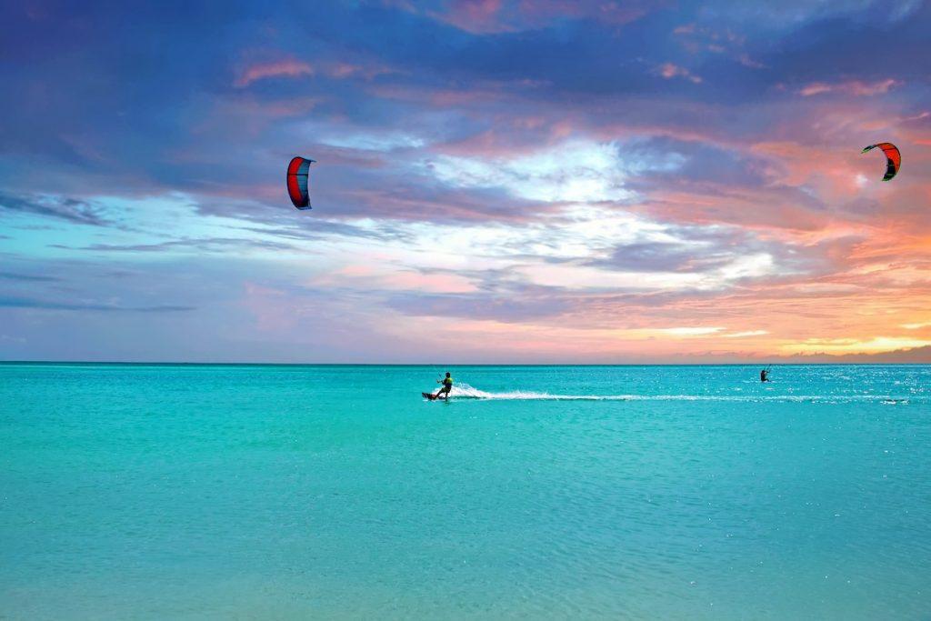 abc islands wind surfing