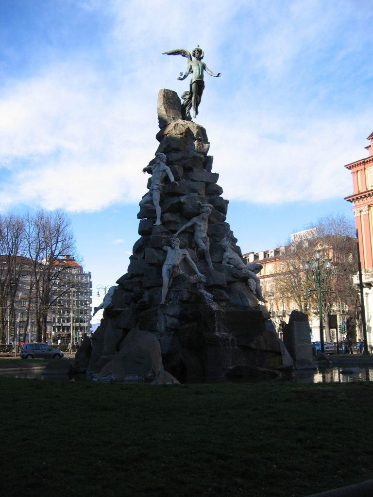 Esoteric monuments Turin
