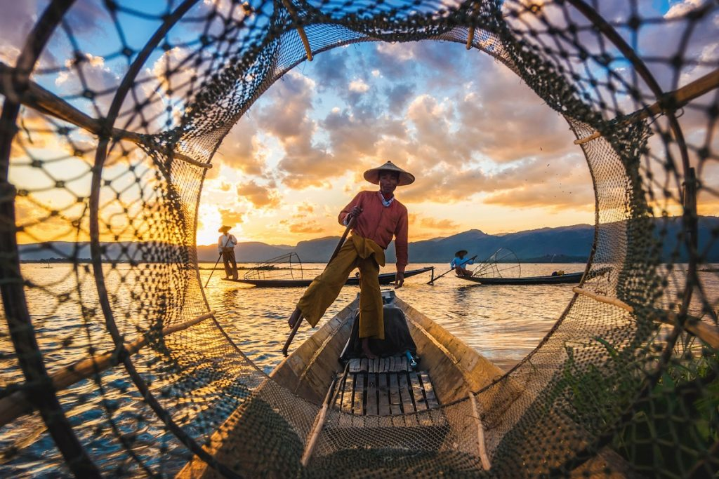 Fishing Lake Inle Myanmar
