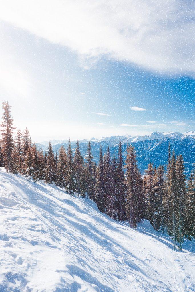 Canadian winter paradise